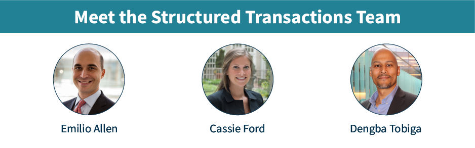 Structured Transactions Team